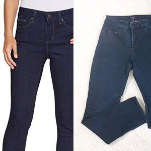 NYDJ Janice Leggings Jeans 6 Dark Wash Slimming